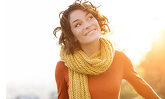 Базовые аксессуары осени: перчатки и шарфы