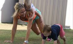 Спортивные мамы, которые вдохновляют встать с дивана