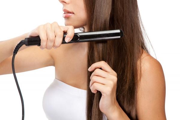 Инструкция по выпрямлению волос