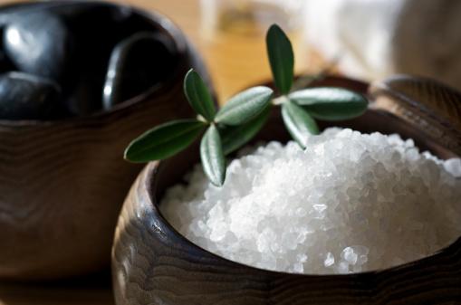 обертывание с солью