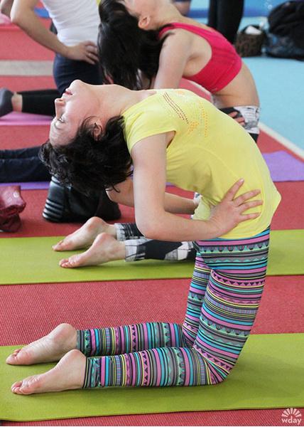 йога-марафон в Иркутске
