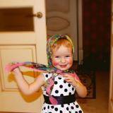 Матрешка Алиса, 2 годика.