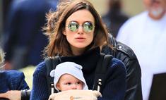 Стильная мама: Кира Найтли носит вещи не по размеру