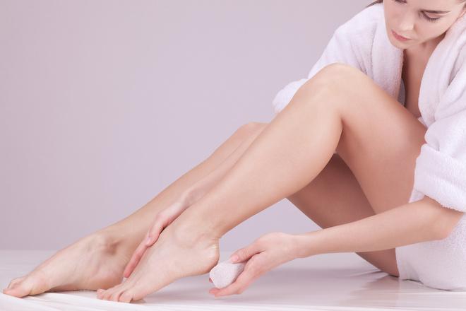 Как убрать кожу на пятке в домашних условиях