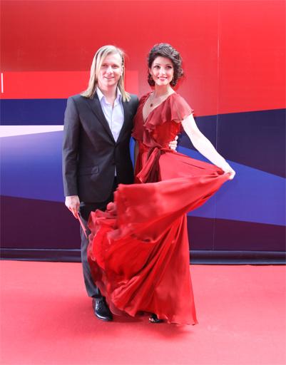 Анастасия Макеева с Глебом Матвейчуком.