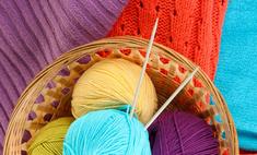 Хендмейд: вязание на спицах домашних тапочек