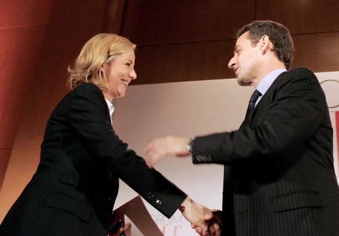 Лоранс Феррари и Николя Саркози: «Давай пожмем друг другу руки...»