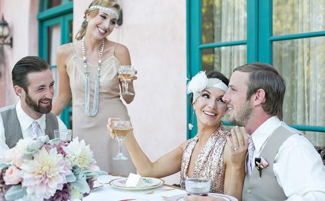 Свадьба в стиле Великий Гэтсби фото