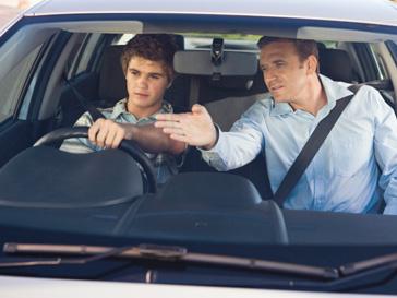 неопытный водитель