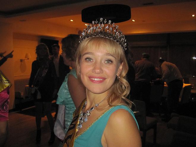 Светлана Сабанцева на конкурсе «Миссис Екатеринбург - 2013»