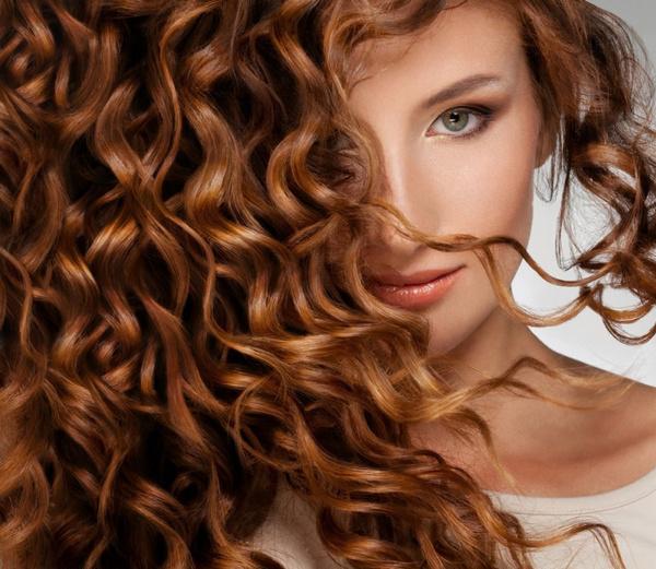 Лечение сожженных волос