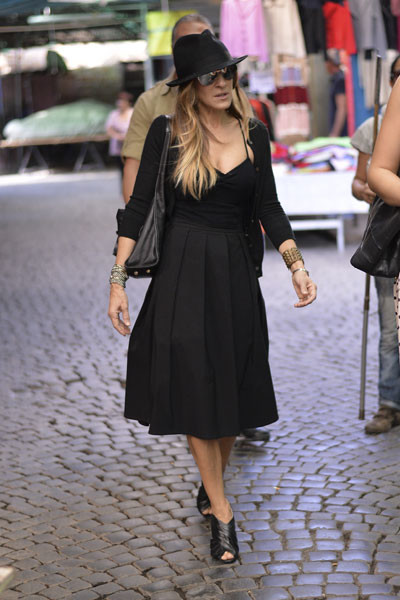Сара Джессика Паркер в Риме