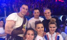 Томские гимнасты стали тренерами на шоу «Без страховки»