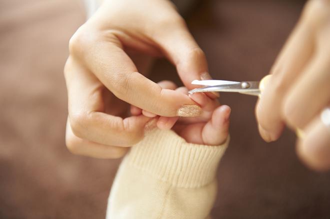 стричь ногти новорожденному