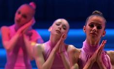 Красноярские гимнастки выступили с Димой Биланом