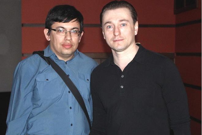 Сергей Безруков: фото после концерта
