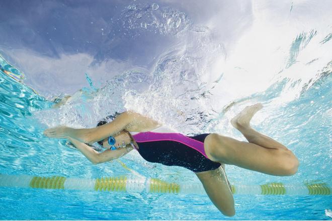 Плавать брассом видео