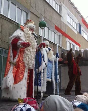 Дед мороз шаинского скачать песню