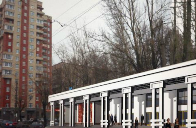 Путиловская, вестибюль, проект