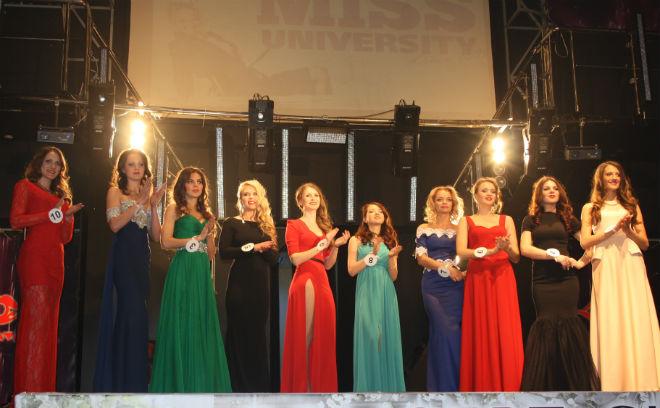 красивые студентки, конкурс красоты, «Miss University 2015»
