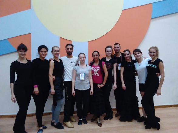 Финалист «ТАНЦЕВ» ADAM провел мастер-классы в Оренбурге