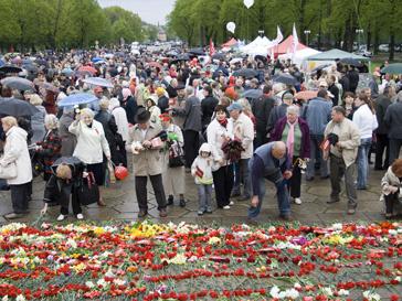 Европа отмечает День победы 8-го мая