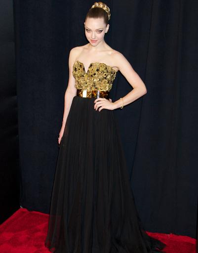 """Аманда Сейфрид (Amanda Seyfried) на премьере """"Отверженных"""""""