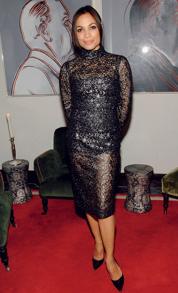 Розарио Доусон в Dolce & Gabbana.