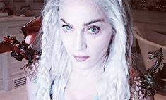 Мадонна превратилась в Мать драконов на еврейский праздник