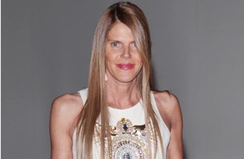 Анна Делло Руссо (Anna Dello Russo) стала звездой видео-ролика, посвященного ее коллекции для H&M