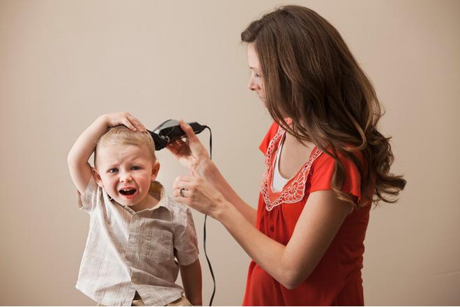 нужно брить ребенка в год