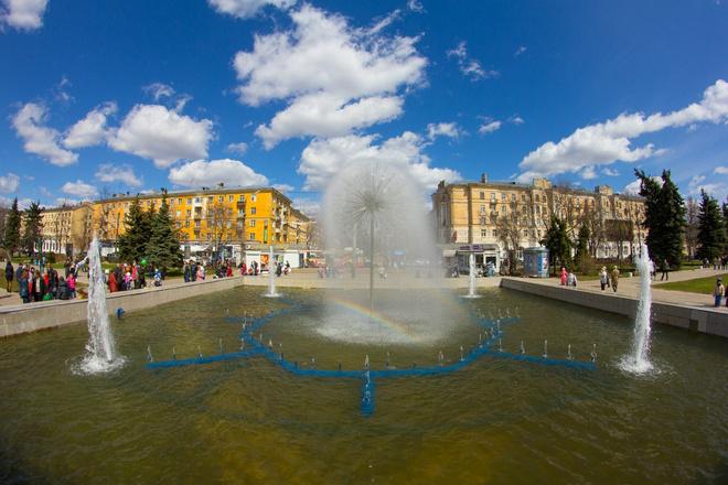 Тверь, фонтан