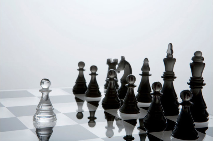 Фигуры на шахматной доске