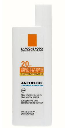Спрей Anthelios, La Roche-Posay защищает кожу от солнечных ожогов и повреждения клеток под воздействием UV-лучей.