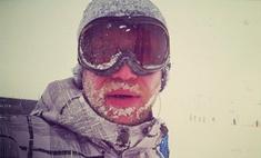 Ледяная звезда: Иван Дорн не боится обморожений