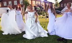 Замуж невтерперж? Бородина примеряет свадебное платье
