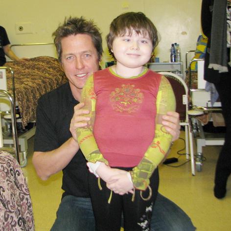 В онкологическом центре актер пообщался не только с детьми, но и с докторами клиники