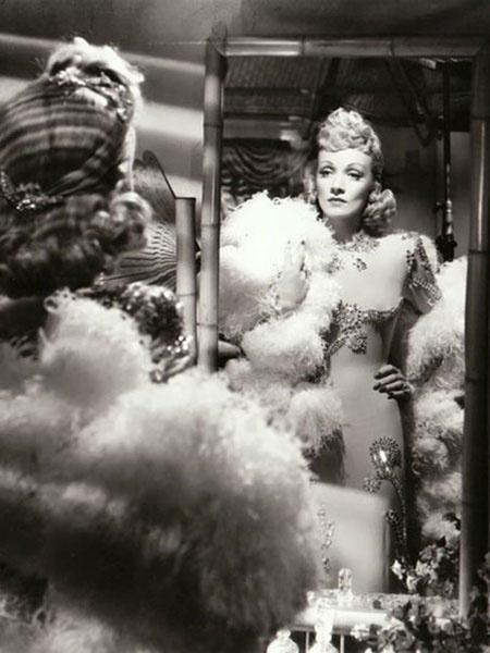 Голые платья. Марлен Дитрих