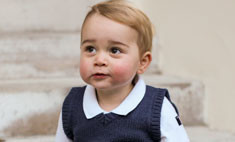 Модный принц: рождественские фото маленького Джорджа