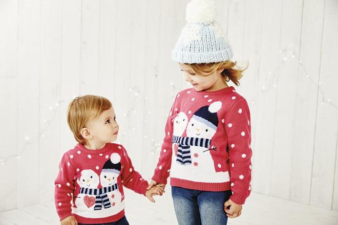 Jingle Bells: одеваем малыша к Новому году и не только
