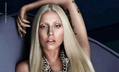 Леди Гага разделась для Versace