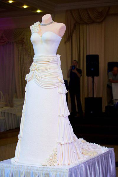 самые красивые свадебные торты Краснодара