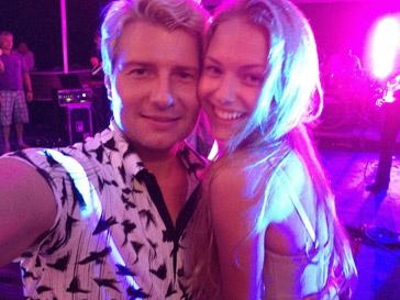 Николай Басков с новой подругой
