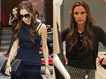 Солнцезащитные очки - не только модный аксессуар для Виктории Бекхэм (Victoria Beckham), но и способ скрыть следы усталости