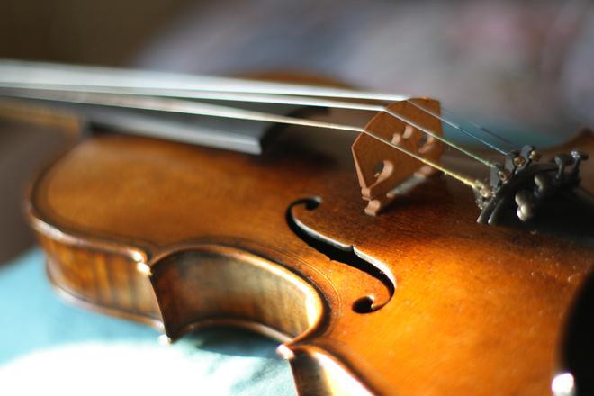 скрипка во сне
