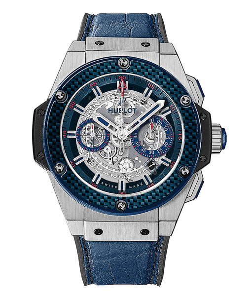 Часы King Power, титан, карбон, Hublot, цена по запросу.