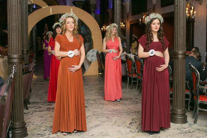 Queen Beauty INSIDE-2015: конкурс красоты среди беременных 20 фото