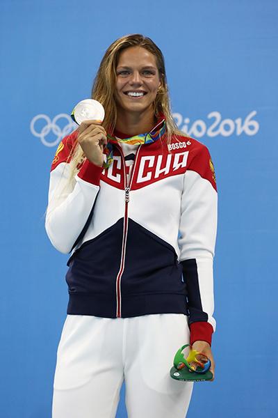 Юлия Ефимова сравнила обстановку в Рио с войной. А что думает ее мама?