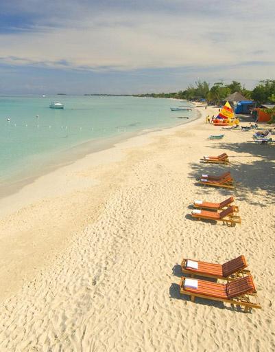 Negril Beach - Пляж курорта Негрил