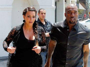 Ким Кардашьян (Kim Kardashian), Канье Уэст (Kanye West)